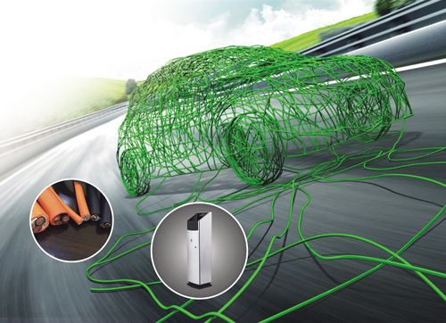180℃硅橡胶薄壁绝缘屏蔽型高压软电缆