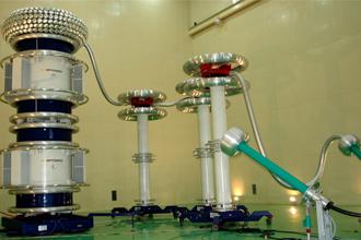 瑞士哈弗莱公司700kV局放耐压实试验系统