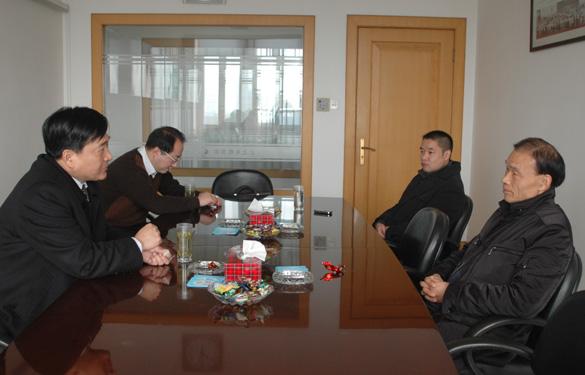 盛市长迎新春走访江苏上上电缆集团