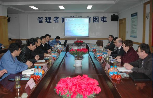 俄罗斯核动力康采恩股份公司领导一行来江苏上上电缆集团参观访问