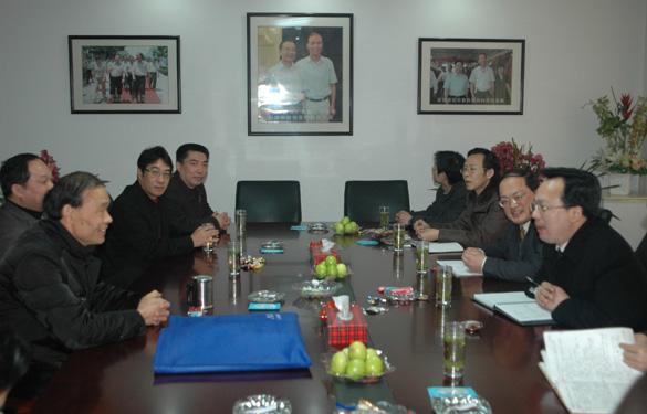 常州市副市长高清新春走访江苏上上电缆集团