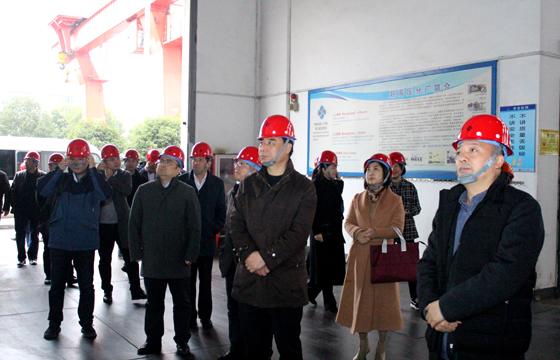 2020年12月8日,常州科教城管委会领导一行来上上亚博yabo210参观